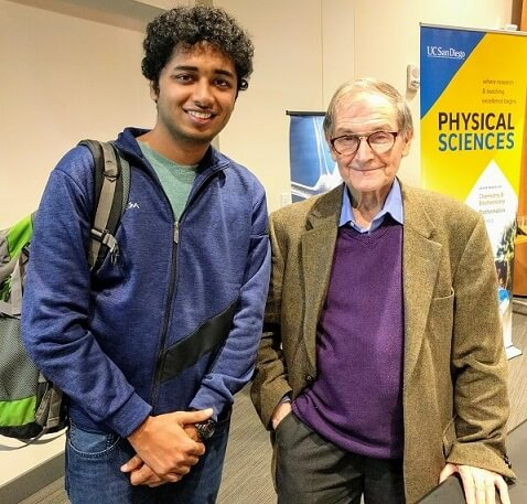 2020 Physics Nobel Laureate Roger Penrose and IIIT Allahabad